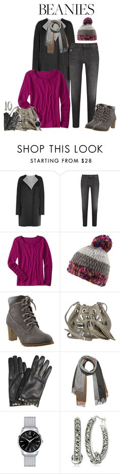 """Hat Head: Pom Pom Beanies"" by alina-n ❤ liked on Polyvore featuring Jil Sander, J Brand, Title Nine, prAna, Patrizia Pepe, Valentino, donni charm, Topshop, Judith Jack and pompombeanies"