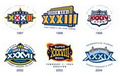 For decades, the NFL favored designs celebrating the game's host cities over the boring logos we're stuck with today.