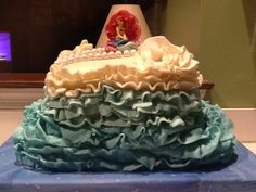 Ariel cake for a sweet 16