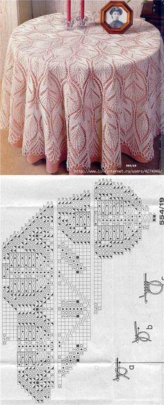 Ideas For Crochet Shawl Pattern Free Circular Lace Knitting, Knitting Stitches, Knitting Patterns, Crochet Patterns, Crochet Kids Scarf, Crochet Shawl, Knit Crochet, Crochet Tablecloth, Crochet Doilies