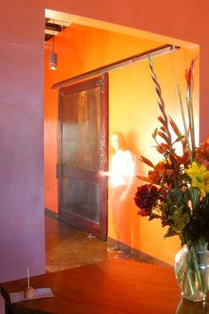 Restaurant Barn Door