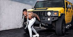 """Nick Cannon puts himself through a grueling morning workout that includes cinder-block lunges and Hummer pulls hours before he takes the stage for """"The Masked Singer. Love Fitness, Fitness Goals, Fitness Tips, Body Weight Ab Workout, Biceps Workout, Exercise Images, Slim And Fit, Nick Cannon, First Photograph"""
