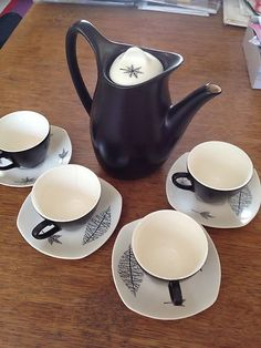 Terence Conran Nature Study Coffee Pot, Midwinter Modern