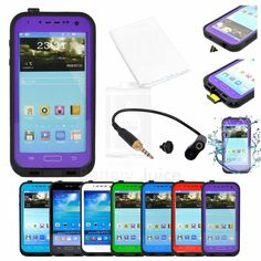 Life Waterproof Dirt Snow Shock Proof Case Cover For Samsung Galaxy S4 SIV I9500...