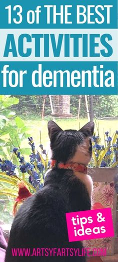 13 Fun Activities For Alzheimer or Dementia Patients · Artsy Fartsy Life Elderly Activities, Senior Activities, Fun Activities To Do, Things To Do At Home, Fun Things, Alzheimers Activities, Elderly Person, Aging Parents, Alzheimer's And Dementia