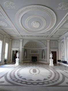 Entrance Hall of Osterley Park House - Robert Adam