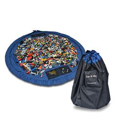 Lego playmat that folds into a bag
