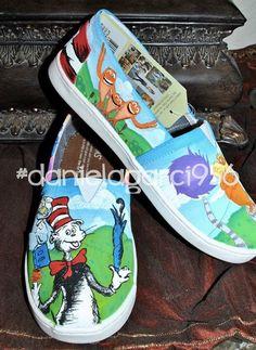 d136cfc8c0ba9 61 Best painted shoes images in 2019
