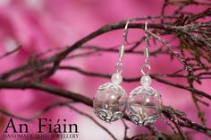 Items similar to Real Dandelion Seed Earrings, Glass Globe Earrings, Real Flower Earrings, Glass Drop Earrings, Pearl Earrings. Real Dandelion seeds Jewelry on Etsy Glass Earrings, Glass Jewelry, Women's Earrings, Jewelry Sets, Jewellery, Jewelry Accessories, Cheap Jewelry, Unique Jewelry, Irish Jewelry