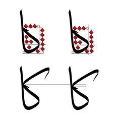 Calligraphy Lessons, Calligraphy Tutorial, Arabic Calligraphy Art, Calligraphy Letters, Learn Arabic Alphabet, Arabian Beauty, Book Binding, Body Art, Lettering