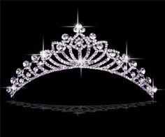 Rhinestones Wedding Bridal Crown: New Pretty Rhinestones Wedding Bridal Crown Tiaras