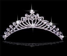 Rhinestones Wedding Bridal Crown: New Pretty Rhinestones Wedding Bridal Crown Tiaras