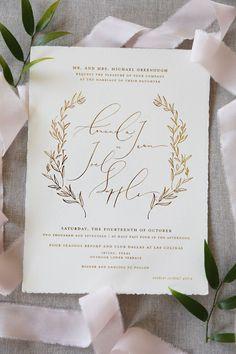 elegant gold script