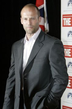 Jason Statham: This guy can wear a suit, or a swimsuit and sell it.