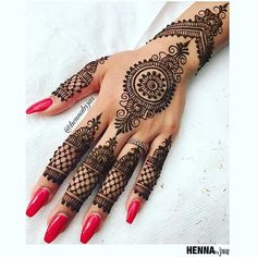 Henna by Jas. Non bridal henna. Offering FREE consultations for all brides getting married in Contact via e-mail text or phone for ALL 2018 Available Henna Dates! For all enquiries or E-mail: . Indian Wedding Henna, Wedding Henna Designs, Indian Henna Designs, Best Mehndi Designs, Indian Weddings, Simple Mehndi Designs, Mehandi Designs, Henna Tattoo Hand, Henna Tattoo Designs