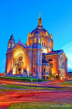St. Paul's Cathedral, MN.