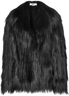 $1,955, Stella McCartney Faux Fur Coat. Sold by NET-A-PORTER.COM. Click for more info: https://lookastic.com/women/shop_items/340850/redirect