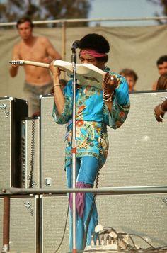 Jimi Hendrix, Newport Pop Festival, 1969