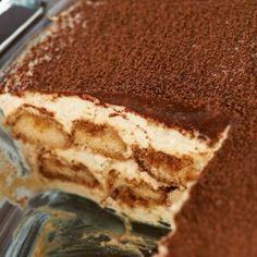 "David's Tiramisu is sure to have you saying, ""Seconds please!"""