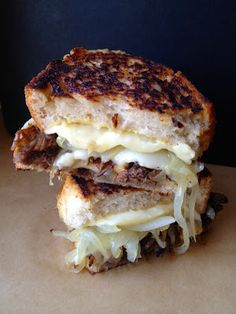 Braised Short Rib Grilled Cheese Recipe #NationalGrilledCheeseDay