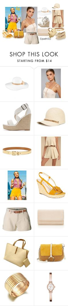 """""""Untitled #663"""" by amliw ❤ liked on Polyvore featuring August Hat, LULUS, Charlotte Russe, STELLA McCARTNEY, Lauren Ralph Lauren, Anne Klein, LE3NO, Halston Heritage, DKNY and Humble Chic"""
