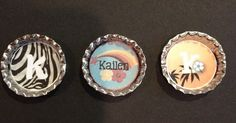 FUN with bottlecaps!  I made these fun personalized bottlecaps using My Memories Software and some really fun digital scrapping kits!  The...