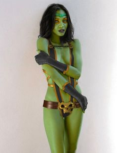Also perfect casting with Zoe playing Gamora in Guardians of the Galaxy. Cant wait to see this