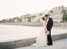 The Wren: Classic Charleston Wedding: Tiger Lily Weds  #tigerlilyweds  Charleston Carolina Yacht Club, White Wedding