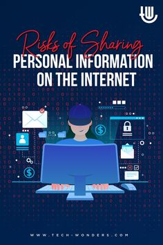 Risks of Sharing Personal Information on the Internet tech-wonders.com/?p=25336 | #PersonalInformation #PersonallyIdentifiableInformation #OnlinePrivacy #Cybersecurity #CyberCrimes #CyberAttacks #InfoSec Software Security, Computer Security, Security Tips, Cyber, Internet, Shit Happens, Tech, Technology