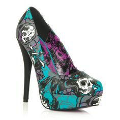 I'm loving these Iron Fist heels! I would love to wear them to work to add a bit of kick to the wardrobe. Be brave!