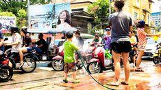 """In Thailand kann man innerhalb von gut 4 Monaten 3 Mal Neujahr feiern. Das """"normale"""" Neujahr, Chinesisches Neujahr im Februar und Songkran im April"""