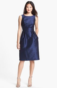 Alfred Sung Boatneck Sheath Dress available at #Nordstrom