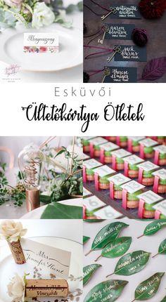 Esküvői ültetőkártya ötletek | Pink & White Wedding Decorations, Table Decorations, Pink White, Art Deco, Place Card Holders, Weddings, Blog, Home Decor, Decoration Home