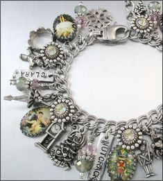The Nutcracker Charm Bracelet by BlackberryDesigns on Etsy