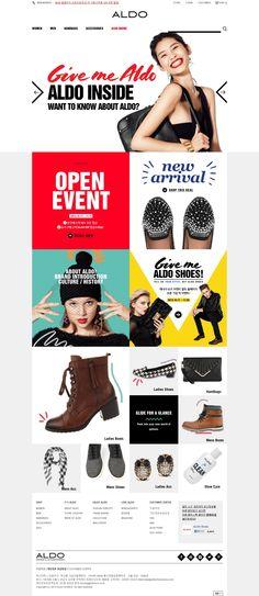 DCafeIn Website - ALDO Korea