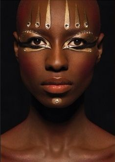 Image result for african make up inspired fashion