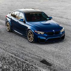 PINTEREST::::💋LA FLAKA💋BMW F80 M3 blue