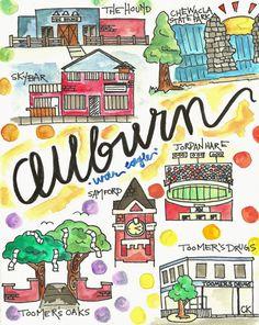 1174 Best Auburn images