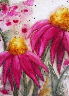 peinture, aquarelle