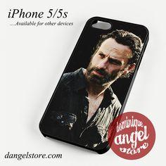 The walking dead rick grimes Phone case for iPhone 4/4s/5/5c/5s/6/6 plus