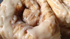 White cake mix is the magic ingredient in these rich cinnamon yeast rolls peppered with pecans on top. Crumpets, Breakfast Recipes, Dessert Recipes, Breakfast Ideas, Cake Recipes, Breakfast Time, Recipes Using Cake Mix, Breakfast Specials, Breakfast Pastries