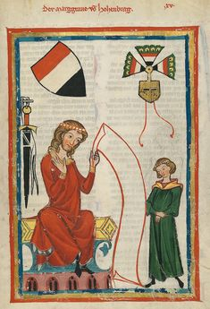 codex manesse | File:Codex Manesse Hohenburg.jpg - Wikimedia Commons