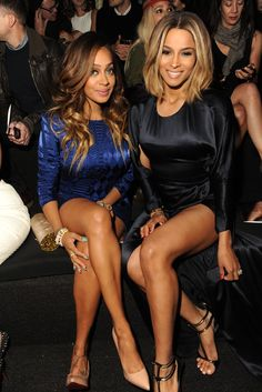 LaLa Anthony and Ciara [Photo by Steve Eichner]