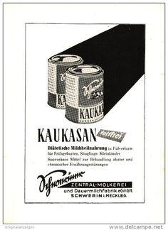 Original-Werbung/Inserat/ Anzeige DDR 1953 - KAUKASAN FETTFREI - ca. 140 x 200 mm
