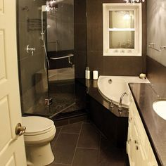 Houzz Bathrooms | Bathroom Designs For Small Spaces
