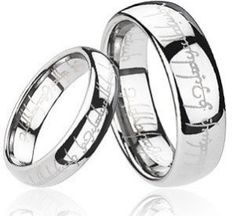 lord of the rings wedding bands one ring to rule them all - The One Ring Wedding Band