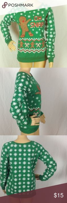 Christmas Sweater Size Large Pre-owned and in excellent condition!!! Freeze Sweaters