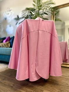 Full chair coverage cape Vegan Leather Hair Cape hair | Etsy