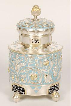 """트위터의 ART In G 자료 봇 님: """"17-18세기 차 통 #은 #실버 #차 #통 #자료 #아트인지 #Silver #Tea #Caddy #Reference #ArtInG https://t.co/F9EtXunlwX"""""""