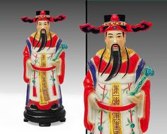 Ancient Chinese Emperor Figurine  Hand & Spray by TonyArmato